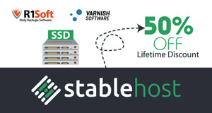 Hosting StableHost giảm 50%